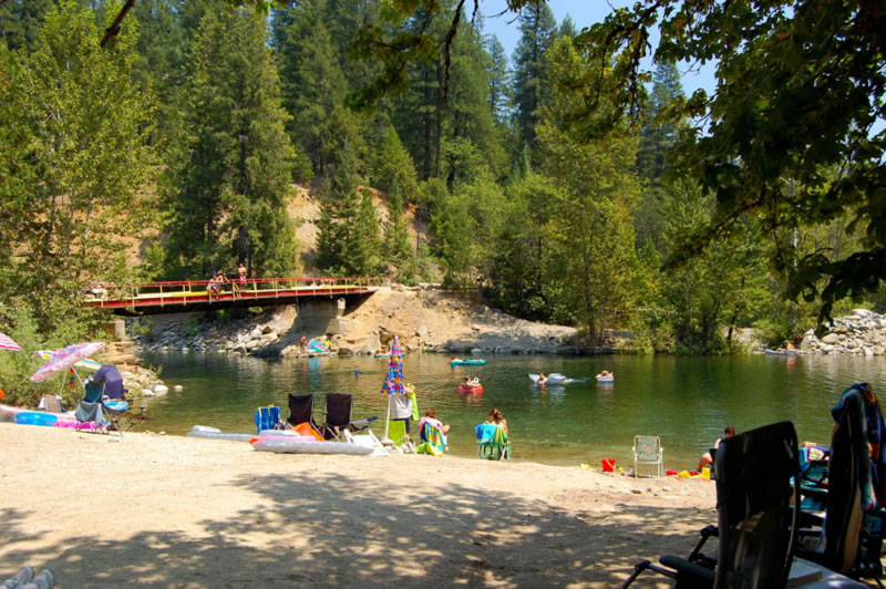 The Swimming Hole Beach