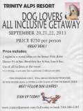 dog lovers getaway