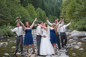 Trinity Alps Wedding